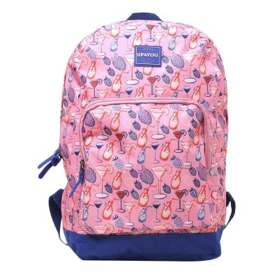 Mochila Up4You Básica Drink - Rosa