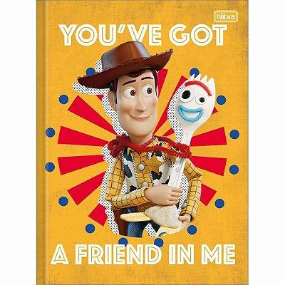 Caderno Brochura Universitário Toy Story 80 Folhas Tilibra- Sortido