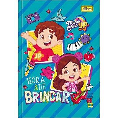 Caderno Brochura Capa Dura 1/4 Maria Clara e JP 80 Folhas-Sortido
