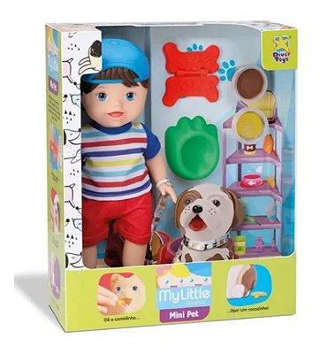 Boneco My Little Collection Menino My Pet Divertoys