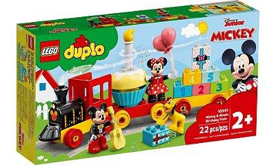 LEGO DUPLO - O Trem de Aniversário do Mickey e da Minnie