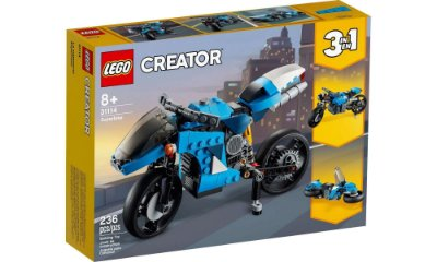LEGO Creator 3 Em 1 - Supermoto