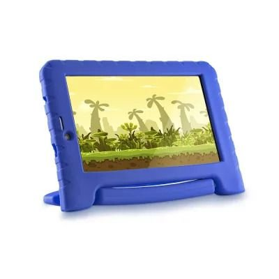 TABLET INFANTIL MULTILASER KID PAD 3G PLUS COM CÂMERA AZUL