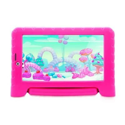 TABLET INFANTIL MULTILASER KID PAD 3G PLUS COM CÂMERA ROSA