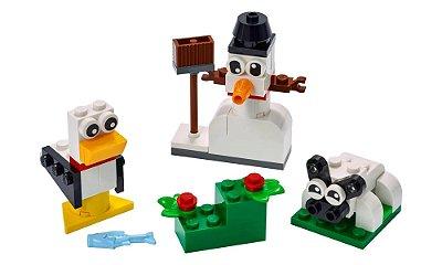 LEGO Classic - Blocos Brancos Criativos
