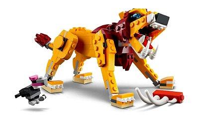 LEGO Creator 3 Em 1 - Leão Selvagem