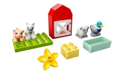 LEGO DUPLO - Cuidando dos Animais da Fazenda