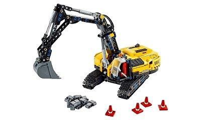 LEGO Technic 2 Em 1 - Escavadeira para Trabalhos Pesados