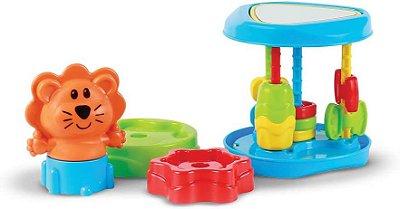 Brinquedo Educativo Baby Roll Tower Empilháveis Multicor