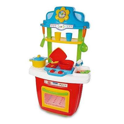 Brinquedo Cozinha Infantil Portátil Acessórios Colorida