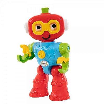 Brinquedo Infantil Educativo Robo Play Com Som - Maral