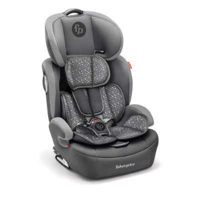 Cadeira Para Auto Safemax 2.0 Cinza Estampado Fisher-Price - BB410