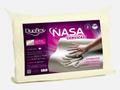 Travesseiro Nasa Cervical- Duoflex Nn2109