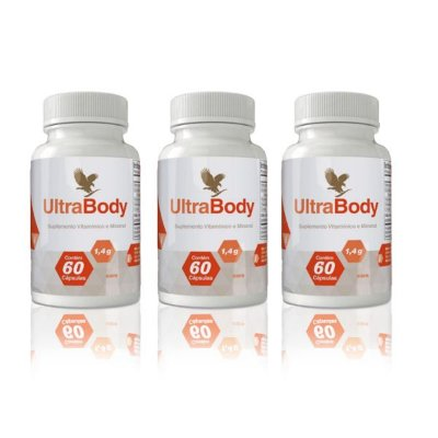 UltraBody, 03 unidades (Picolinato de cromo + vitamina A)