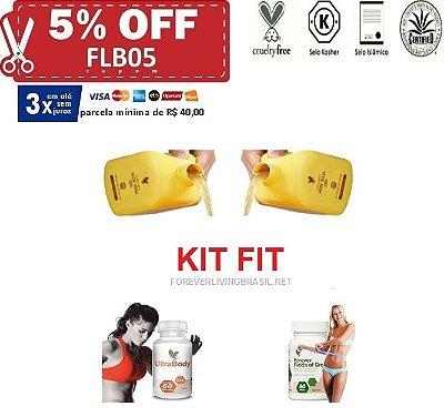 Kit FIT (Gerenciando o emagrecimento em todas as áreas com força total)