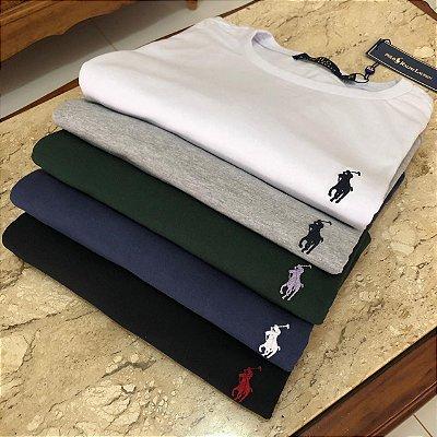 Kit 4 Camisetas Masculinas Ralph Lauren