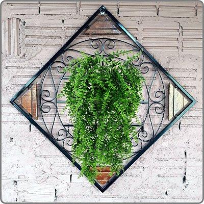 Painel Floreira Diagonal P/ Jardim Vertical (Modelo D01)