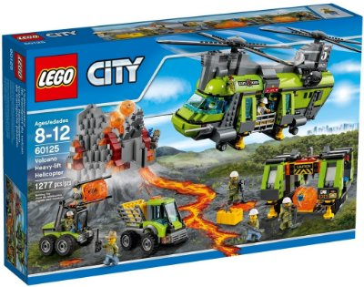 LEGO CITY 60125 VOLCANO HEAVY-LIFT HELICOPTER