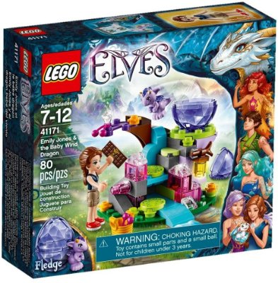 LEGO ELVES 41171 EMILY JONES & THE BABY WIND DRAGON