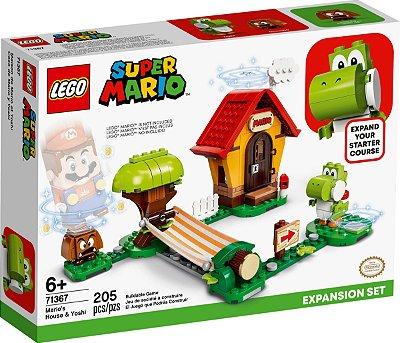 LEGO SUPER MARIO 71367 CASA DE MARIO E YOSH - EXPANSÃO
