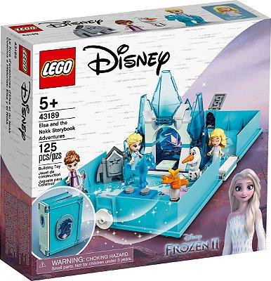 LEGO DISNEY 43189 O LIVRO DE AVENTURAS DE ELSA E NOKK