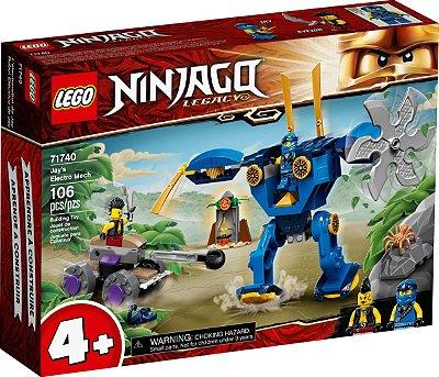 LEGO NINJAGO 71740 O ELECTROMECH DE JAY