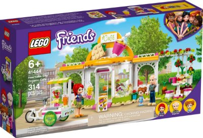 LEGO FRIENDS 41444 CAFETERIA ORGÂNICA DE HEARTLAKE CITY