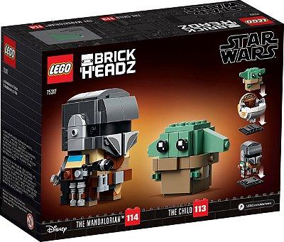 LEGO STAR WARS 75317 O MANDALORIANO E A CRIANÇA