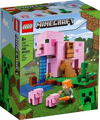 LEGO MINECRAFT 21170 A CASA DO PORCO