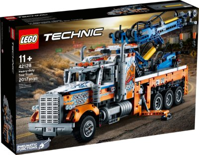 LEGO TECHNIC 42128 CAMINHÃO REBOCADOR DE CARGA PESADA