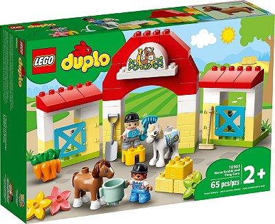LEGO DUPLO 10951 ESTÁBULO DE CAVALOS E PONEIS