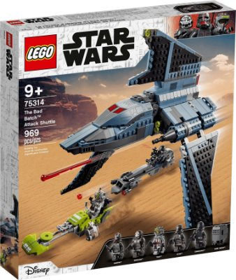 LEGO STAR WARS 75314 A NAVE DE ATAQUE BAD BATCH™