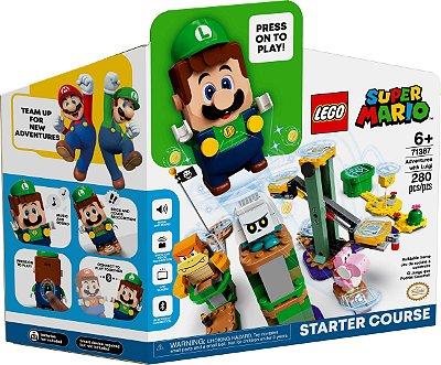 LEGO SUPER MARIO 71387 AVENTURAS COM LUIGI - KIT PRINCIPAL