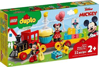 LEGO DUPLO 10941 O TREM DE ANIVERSÁRIO DO MICKEY E DA MINNIE