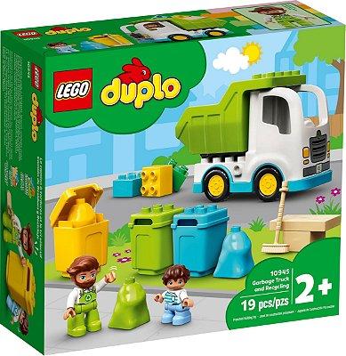 LEGO DUPLO 10945 CAMINHÃO DO LIXO E RECICLAGEM