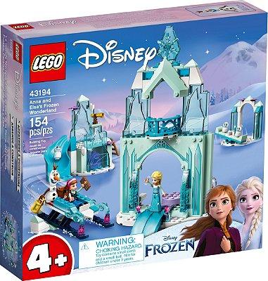 LEGO DISNEY 43194 O PAÍS ENCANTADO DO GELO DE ANNA E ELSA