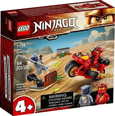 LEGO NINJAGO MOTOCICLETA DE LÂMINAS DO KAI - 71734