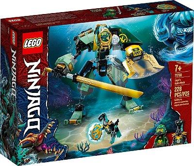 LEGO NINJAGO 71750 HIDRO ROBÔ DO LLOYD