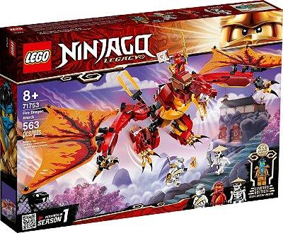 LEGO NINJAGO 71753 ATAQUE DO DRAGÃO DO FOGO
