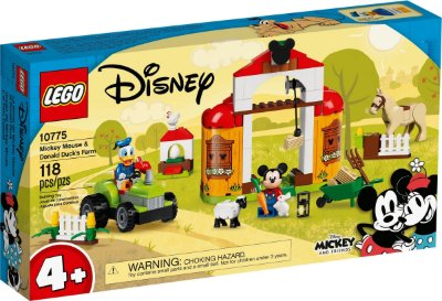 LEGO DISNEY 10775 A FAZENDA DO MICKEY E DO PATO DONALD