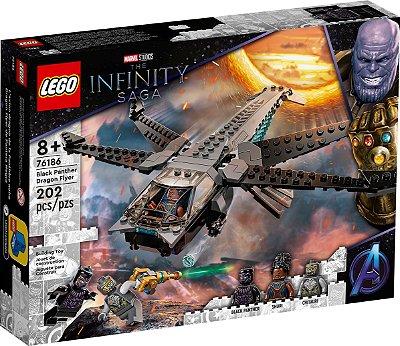 LEGO SUPER HEROES 76186 AVIÃO DRAGÃO DO PANTERA NEGRA