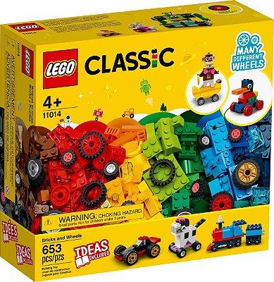 LEGO CLASSIC 11014 BLOCOS E RODAS