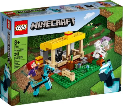 LEGO MINECRAFT 21171 O ESTÁBULO DE CAVALOS