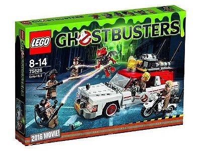 LEGO CAÇA FANTASMAS 75828 ECTO-1 & 2