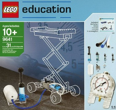 LEGO EDUCATION 9641 PNEUMATICS ADD-ON SET
