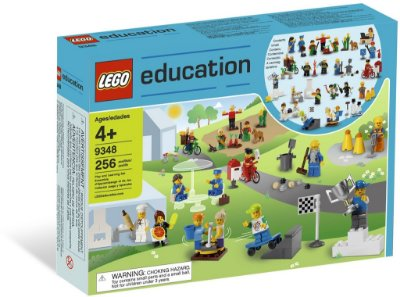 LEGO EDUCATION 9348 COMMUNITY MINIFIGURE SET