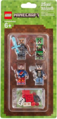 LEGO MINECRAFT 853609 SKIN PACK 1