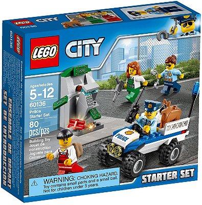 LEGO CITY 60136 POLICE STARTER SET