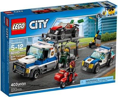 LEGO CITY 60143 AUTO TRANSPORT HEIST
