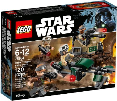 LEGO STAR WARS 75164 REBEL TROOPER BATTLE PACK